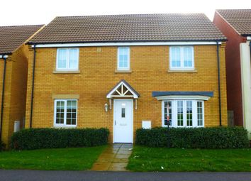 Thumbnail 4 bed detached house for sale in College Road, Cranwell Village, Sleaford