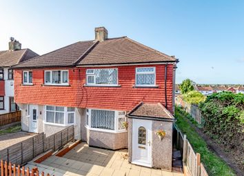 Thumbnail 4 bed semi-detached house for sale in Ridgeway East, Sidcup
