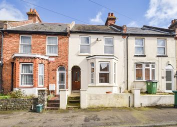 Thumbnail 3 bed terraced house for sale in Broomfield Road, Folkestone