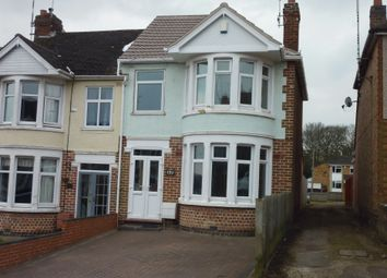 Thumbnail 3 bedroom end terrace house to rent in Ashington Grove, Whitley, Coventry, West Midlands