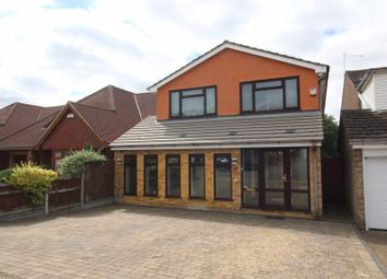 Thumbnail 4 bed detached house for sale in Underhill Road, Benfleet