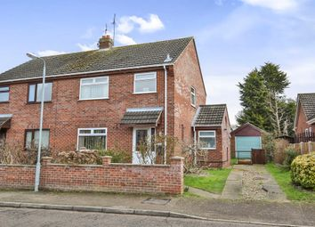Thumbnail 3 bedroom semi-detached house for sale in Jenny Road, Spixworth, Norwich