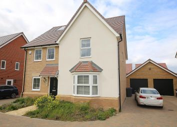 Thumbnail 4 bed detached house to rent in Walton Heath Close, Stanford-Le-Hope, Essex