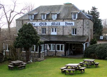 Thumbnail Leisure/hospitality for sale in The Old Mill Inn, Brodie, Forres