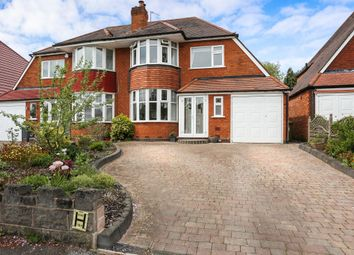 Thumbnail 3 bedroom semi-detached house for sale in Keswick Road, Solihull
