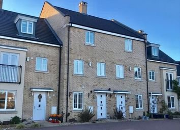 Thumbnail 4 bed terraced house for sale in Buttercup Avenue, Eynesbury, St. Neots, Cambridgeshire