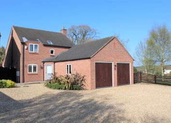Thumbnail 4 bed detached house for sale in Newton Road, Heather, Coalville