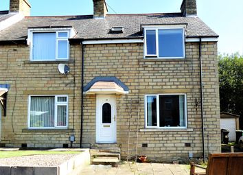 Thumbnail 3 bedroom end terrace house for sale in Quarmby Road, Quarmby, Hudersfield