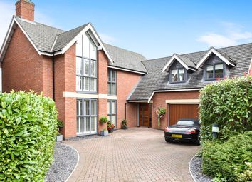 Thumbnail 5 bed detached house for sale in Sutton Lane, Etwall, Derby