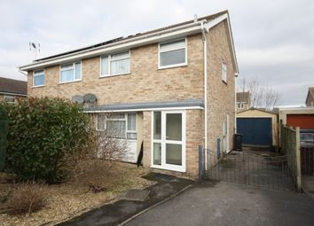 Thumbnail 3 bedroom semi-detached house to rent in Cabot Way, Weston Super Mare