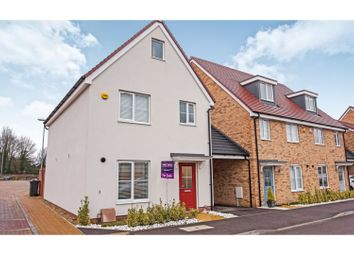 Thumbnail 3 bed detached house for sale in Duncombe Close, Witham