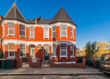 Thumbnail 3 bed flat to rent in Pemberton Road, Harringay