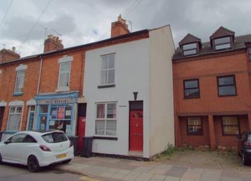 Thumbnail 2 bed end terrace house for sale in Queens Road, Leicester, Leicestershire