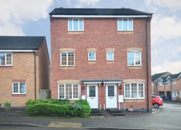Thumbnail 3 bedroom terraced house to rent in Godwin Way, Stoke-On-Trent