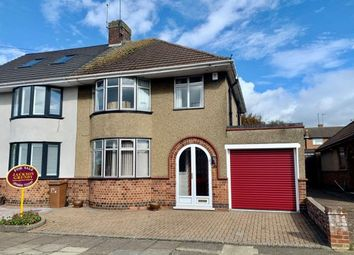Thumbnail 3 bed semi-detached house for sale in Barons Way, Kingsthorpe, Northampton