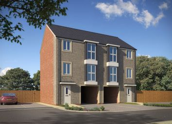 "Thumbnail 3 bed town house for sale in ""The Adderley"" at Bath Road, Bridgwater"