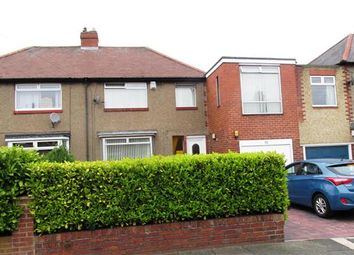 Thumbnail 4 bed semi-detached house for sale in Northcote Avenue, West Denton, Newcastle Upon Tyne