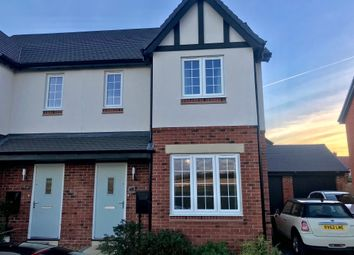 Thumbnail 3 bedroom semi-detached house for sale in Hutton Road, Kineton, Warwick