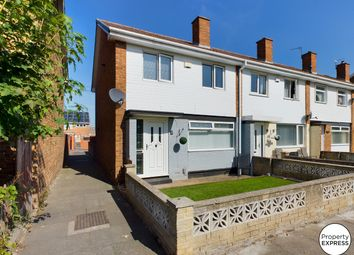 Thumbnail 3 bed end terrace house for sale in Keynsham Avenue, Middlesbrough, North Yorkshire