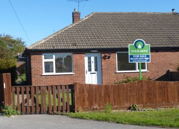 Thumbnail 2 bed bungalow for sale in St. Martins Drive, Desford, Leicester