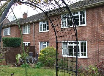 Thumbnail 2 bed maisonette to rent in Woodstock, East Grinstead, West Sussex