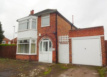 Thumbnail 3 bed detached house for sale in Heyworth Road, Rowley Fields, Leicester