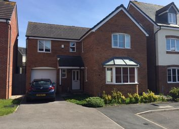 Thumbnail 4 bed detached house to rent in Willard Close, Newcastle, Staffordshire