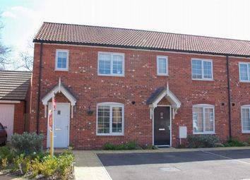 Thumbnail 3 bedroom end terrace house for sale in The Furrows, Moulton, Northampton