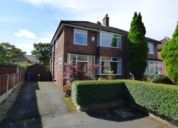 Thumbnail 3 bed semi-detached house for sale in Grendale Avenue, Hazel Grove, Stockport