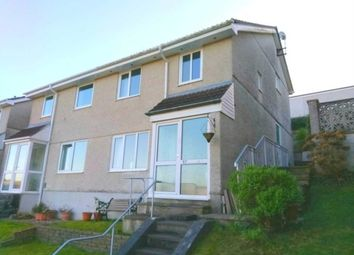Thumbnail 3 bed semi-detached house for sale in Wensum Close, Plympton, Plymouth