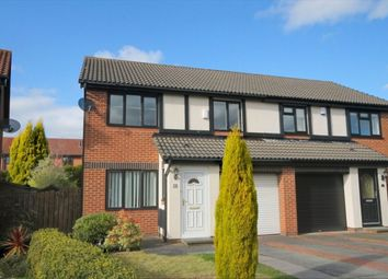 Thumbnail 3 bed semi-detached house for sale in The Glade, Abbey Farm, Newcastle Upon Tyne