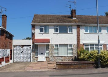 Thumbnail 3 bed semi-detached house for sale in Watergate Lane, Braunstone, Leicester