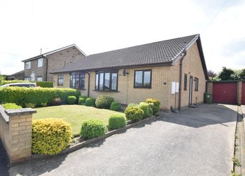 Thumbnail 2 bedroom semi-detached bungalow for sale in Coates Avenue, Winterton, Scunthorpe