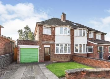 Thumbnail 3 bed semi-detached house for sale in Victor Road, Solihull
