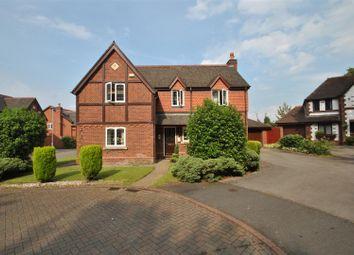 Thumbnail 4 bed detached house for sale in Shepperton Close, Appleton, Warrington