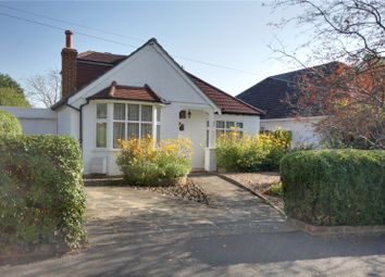 Thumbnail 4 bed detached bungalow for sale in Little Green Lane, Chertsey, Surrey