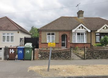 Thumbnail 2 bed semi-detached bungalow for sale in Culford Road, North Grays
