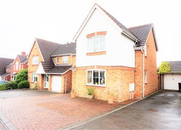 Thumbnail 4 bed detached house for sale in Blackthorn Way, Measham
