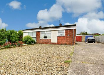 Thumbnail 2 bed semi-detached bungalow for sale in Inmans Road, Hedon, Hull