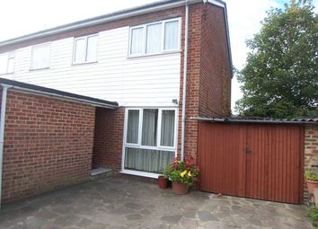 Thumbnail 3 bed semi-detached house to rent in Hall Place, Woking