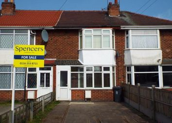 Thumbnail 3 bed terraced house for sale in Rosedale Avenue, Leicester