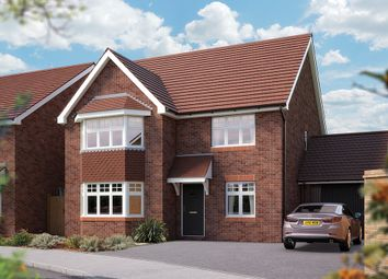 "Thumbnail 5 bed detached house for sale in ""The Oxford"" at Campton Road, Shefford"
