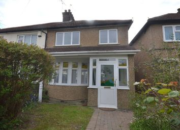Thumbnail 3 bed semi-detached house for sale in Hazeltree Road, Watford