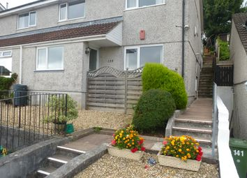 Thumbnail 1 bed flat for sale in Elford Crescent, Plympton, Plymouth