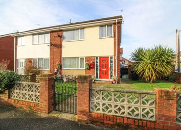 Thumbnail 3 bed semi-detached house for sale in Romney Avenue, Fleetwood