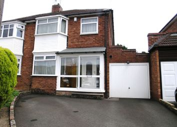 Thumbnail 3 bed semi-detached house for sale in Valley Road, Halesowen