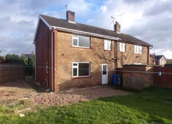 Thumbnail 3 bed semi-detached house for sale in Kneesal Close, Meden Vale, Mansfield, Nottinghamshire