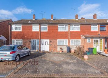 Thumbnail 3 bed terraced house for sale in Lilliards Close, Hoddesdon, Hertfordshire