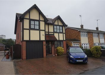 Thumbnail 4 bed detached house for sale in Beauchamps Drive, Wickford