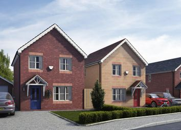 Thumbnail 3 bed detached house for sale in Plot 5, 6 & 15 Pentrosfa Leys, Pentrosfa, Llandrindod Wells